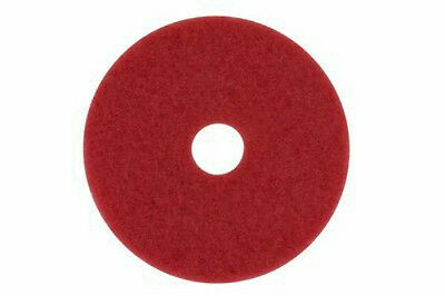 """3M 5100 Red Buffer Pads 12"""" (Qty:5 New in Box)"""
