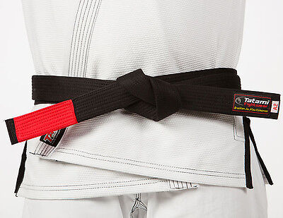 Tatami Fightwear Adult BJJ Rank Black Belt