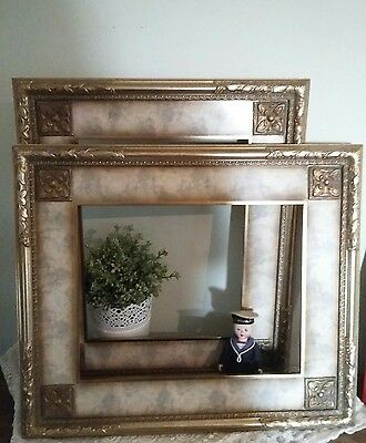 2x French / Italian Style Ornate Decorative Frame. Chic Picture Frame. Wedding ?