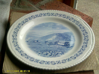 "Wood & Sons England Heritage Trail Mt Washington Souvenir Plate 10""(*)"
