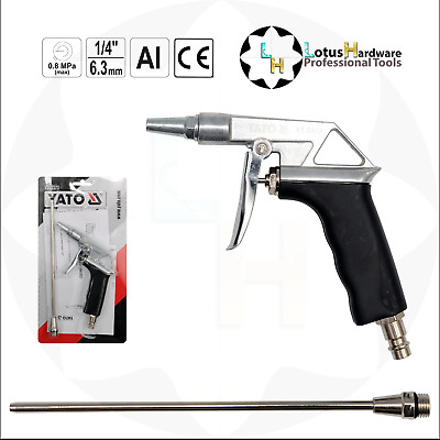 Blow Gun Air Duster with Extension Professional Yato YT-2373