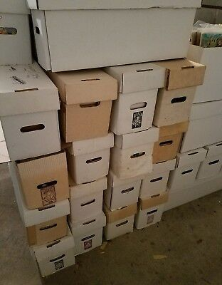 Long Box of Marvel and DC Comic Books FREE SHIPPING!!!!