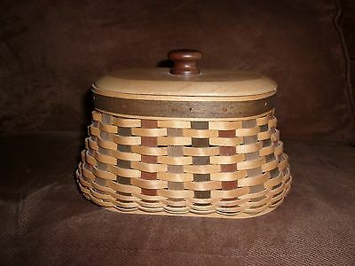 Longaberger 2006 Collector's Club ACT Fireside Basket Set with Lid