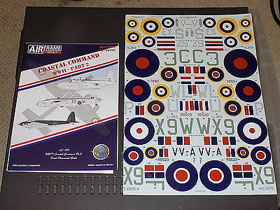 Airframe Decals 48199 1/48 WWII Coastal Command Part 2