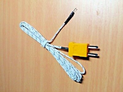 2M K-Type Multimeter Temperature Thermocouple Probe
