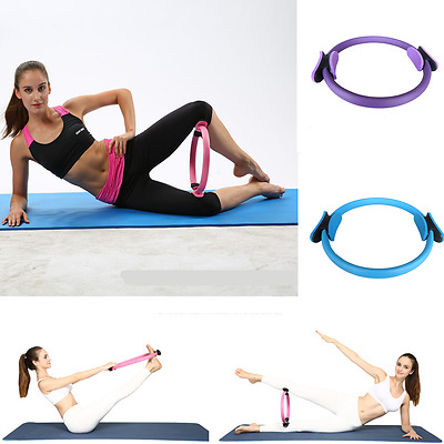 Yoga Ring Magic Circle Dual Grip Body Sport Exercise Fitness Circles Pilates New