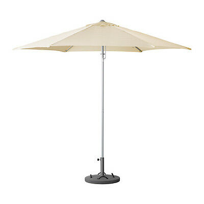 Parasol with base KARLSÖ Beige available in 2 colours