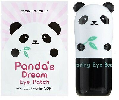 TONY MOLY Korean Panda's Dream Brightening Eye Base and Eye Patch