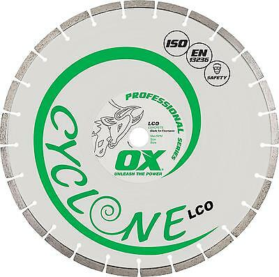 OX LCO Professional Segmented Diamond Blade - 2 Sizes Available