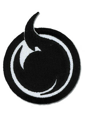 "Hell Girl Hell Symbol Iron On Patch 3"" x 2.5"" Licensed GE Animation Anime Patch"