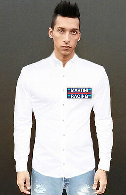 """Camicia """"MARTINI RACING"""" Casual shirt Gulf Vintage Cup Steve GP, Collez. 2019!"""