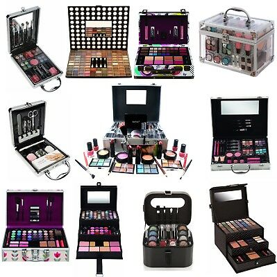 Beauty Make Up Set & Vanity Case Cosmetics Collection & Carry Box GIFT STORAGE