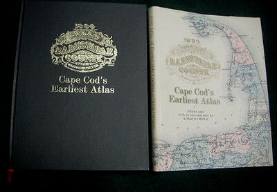 1880 Atlas Of Barnstable County Ma Cape Cod's Earliest Atlas Book Signed Gamble
