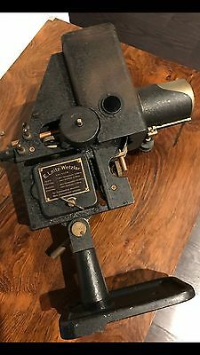 Rare Vintage Antique E. Leitz Wetzlar Leica Carbon Arc Lamp Light Steampunk 1920