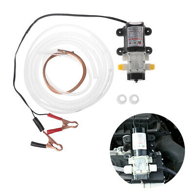 12V 45W Car Electric Oil Diesel Fuel Extractor Transfer Pump w/Crocodie Clip