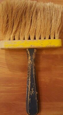 Vtg STA-DRI #200 Concrete Masonry Horsehair Wooden Brush Finish
