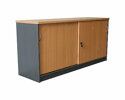 Office Sliding Door Credenza - 1500W or 1800W