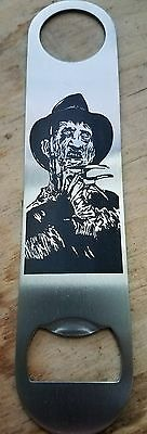 Freddy Krueger nightmare on elm street stainless steel bottle opener/church key