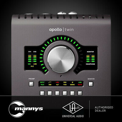 Universal Audio Apollo Twin 2 Quad Thunderbolt Interface