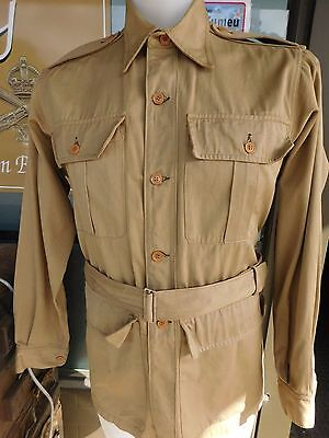 WWII New Zealand Made Bush Shirt Dated 1944