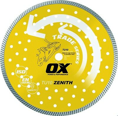 OX Trade Turbo Diamond Blade - Universal / Hard  (8 sizes available) OX-TU10