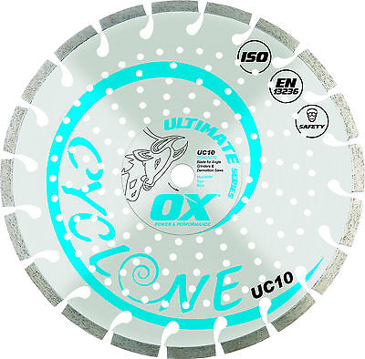 OX Ultimate Segmented Diamond Blade General Purpose/Concrete (9 sizes available)