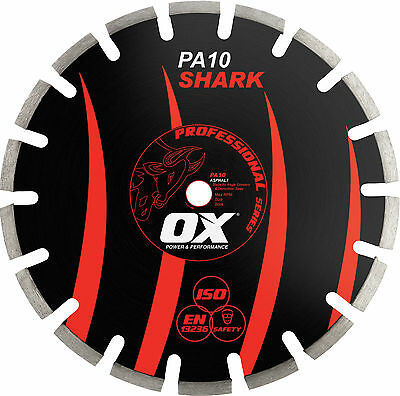 OX Professional Segmented Diamond Blade Asphalt (2 sizes available) OS-PA10