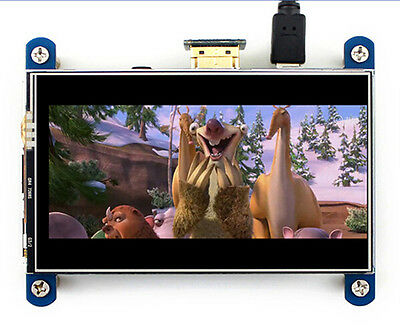 IPS Screen Himbeeren PI 8 x HDMI LCD Display 800 × 480 Touch LCD Anzeige