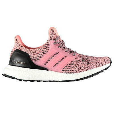 50e3253ff NEW ADIDAS Ultra Boost Salmon Pink Still Breeze Women S80686 LIMITED ...