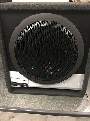 Alpine Type R Subwoofer In Alpine Box -  Car  Subwoofer Sbr-S122V