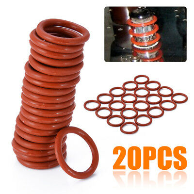 20Pcs Tube Dampers Silicone O-Ring For 12AX7 12AU7 12AT7 12BH7 EL84 Audio Vacuum