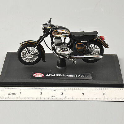 1/18 Scale Black JAWA 350 Automatic(1966) Diecast Alloy Motorcycle Model Toy