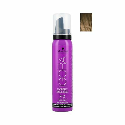 Schwarzkopf Professional Igora Expert Mousse colorante semi-permanente 100ml