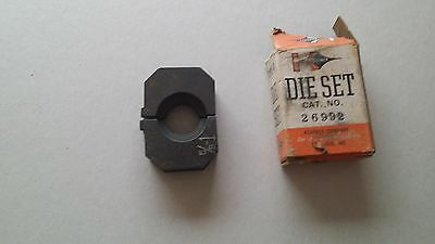 Kearney Blackburn OD58 compression tool 26992 5/8-1  Die Set