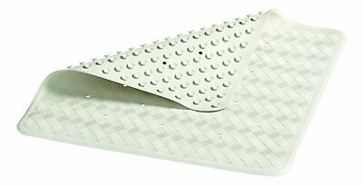 Rubbermaid Square Safety Grip Shower Mat 7112-04 New White