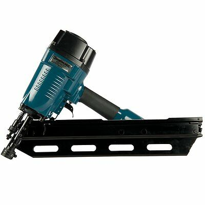 1ST FIX AIR FRAMING STRIP NAILER, FIRES UP TO 90mm 34d + 2,200 NAILS FREE !