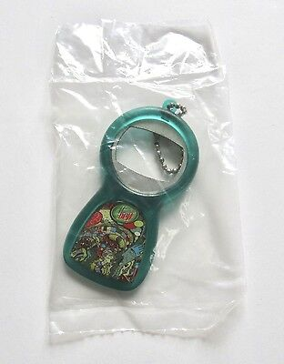 New! Mountain Dew Collectible Green Label Art Just Like Snowflakes Bottle Opener