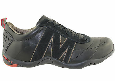 New Merrell Scalar Mens Leather Lace Up Casual Shoes