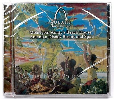 NEW Disney Parks Aulani Official Album CD Disc Theme Music