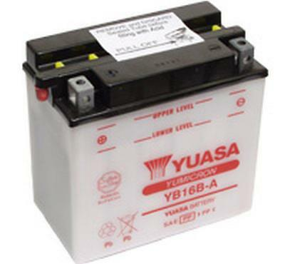 Genuine Yuasa YB16B-A Motorbike Motorcycle 12V Battery