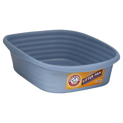 ARM&HAMMER - Cat Pan Litter Box Large Pearl Ash Blue - 1 Count
