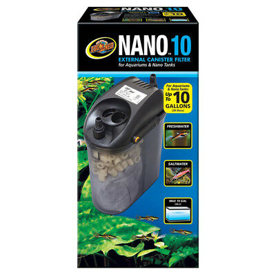 ZOO MED - NANO 10 External Canister Filter - 10 Gallons