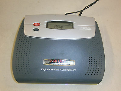 Datek Digital Music-On-Hold Player Digital On-Hold Audio System With Power