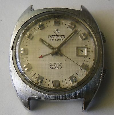 AS 1931 Alarm Watch for Repair Potens AS 1931 Reloj de Alarma para Reparar 1970