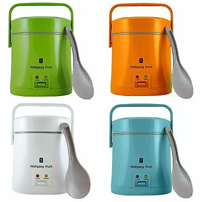 Wolfgang Puck Portable Rice Cooker 1.5 Cup Dry 3 Cup Cooked Choose Your Color