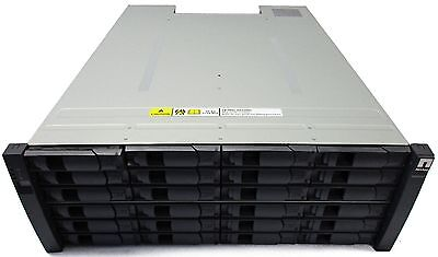 NetApp DS4243 Disk Array Shelf Storage Barebones 24x Tray 2x PSUs 2x IOM3