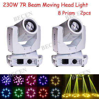 230W 20CH Touch Screen Sharp Beam Moving Head Light 7R For DJ Stage Light 2pcs