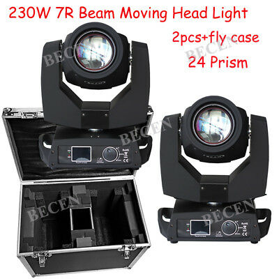 230w 7R Beam Sharpy Moving Head Light 24 Prism For Party Disco Dj Stage Lighting