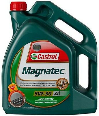 Castrol Magnatec 5w30 A5 Ford 4 Litre Engine Oil replaced Castrol A1