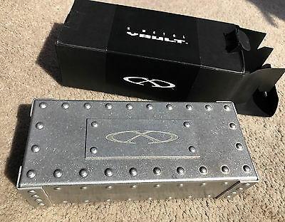 Oakley X Metal Large Hard Vault Boxed. Romeo Juliet. Extremely rare.